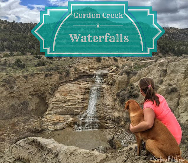 Gordon Creek Waterfalls, Utah, Hiking in Utah with Dogs
