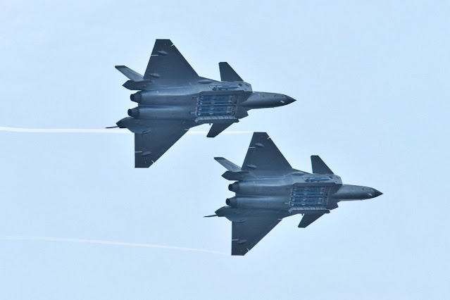 The J-20 stealth fighter has been using a stop-gap engine. Photo: Reuters