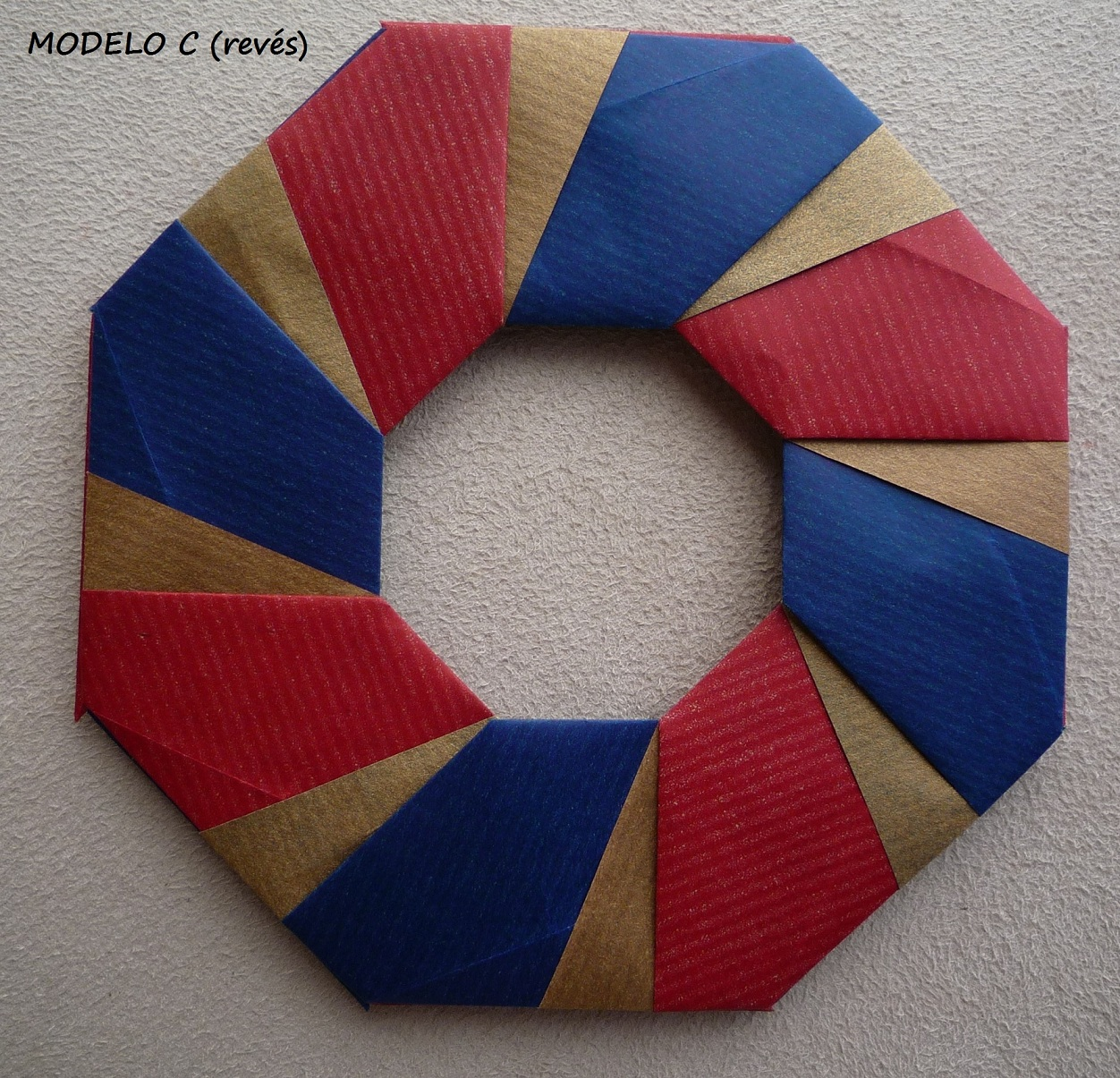 From Origami Rings And Wreaths By Tomoko Fuse Diagrams For Ring 3