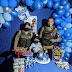 Santa Bárbara: Policiais realizam sonho de menino no dia do seu aniversário