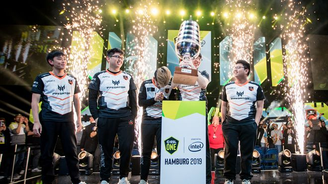Juara ESL One Hamburg 2019
