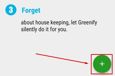 Melakukan konfigurasi Greenify Mod Apk