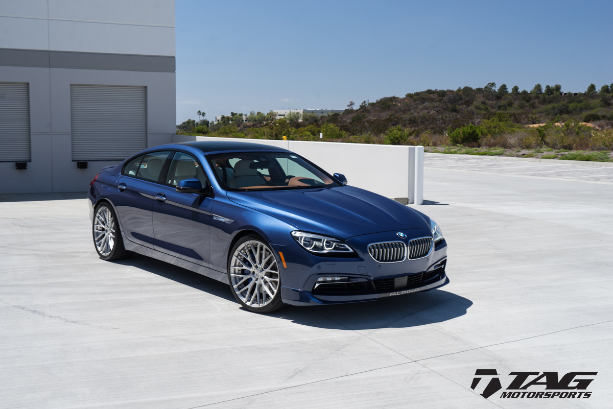 Alpina S Stylish B6 Gran Coupe Looks Even Better With
