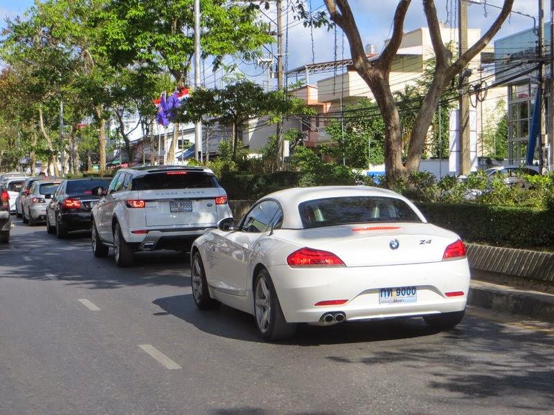 Дорогие машины Таиланд