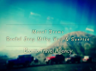 Mount Bromo Rental Jeep Milky Way and Sunrise