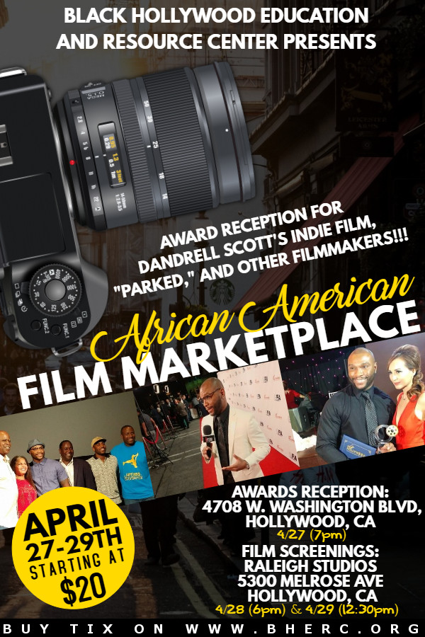 "NEWS: African American Film Marketplace 2018 for ""PARKED"""
