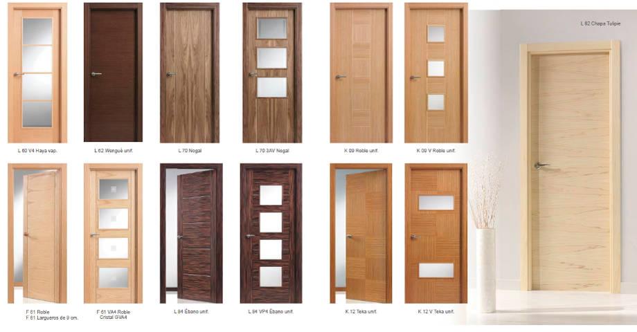 Karpinteria puertas armarios y tarimas puertas de for Puertas de madera interiores modernas
