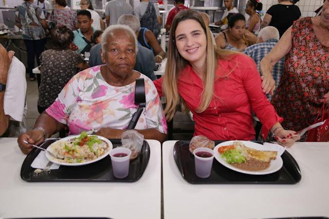 Comida natalina é servida nos Restaurantes de Bangu e Campo Grande