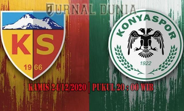 Prediksi Kayserispor vs Konyaspor, Kamis 24 Desember 2020 Pukul 20.00 WIB
