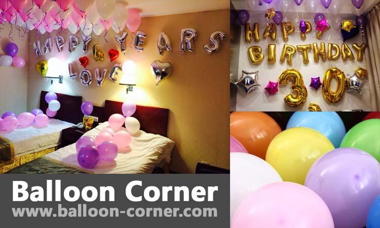 Meriahkan Pesta Anda Dengan Dekorasi Balon Dari Balloon Corner