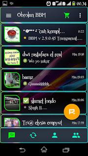 bbm transparan