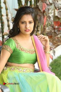 Actress Nikitha Bisht Stills in Lehenga Choli at Pochampally Ikat Art Mela Launch  0349.JPG