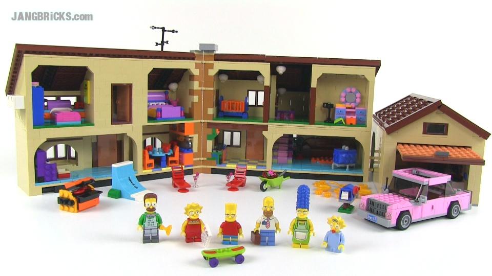 JANGBRiCKS LEGO reviews & MOCs: January 2014 Lego Simpsons House