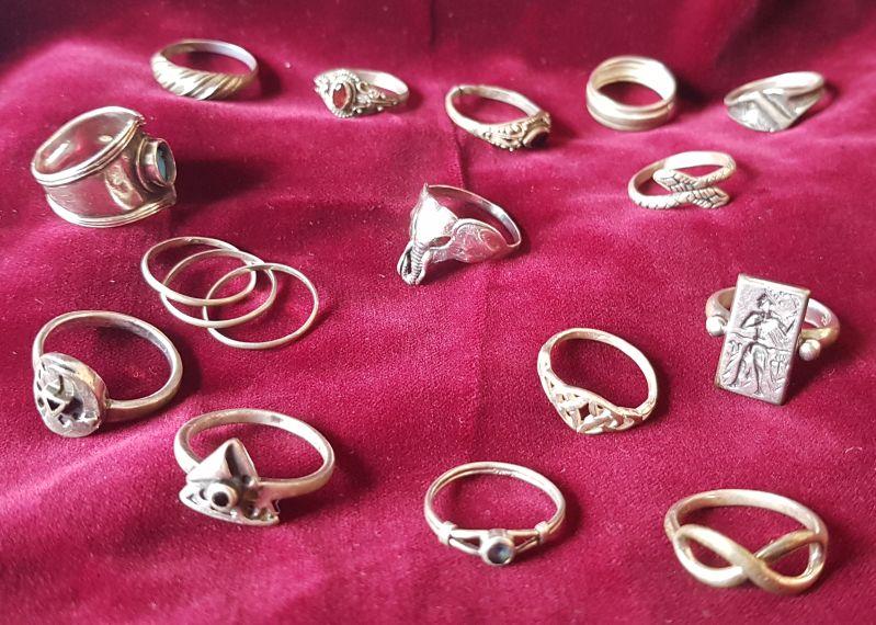 Silberringe im Ethnostil - Mitbringsel, Fundstücke und Geschenke