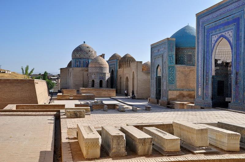 Shakhi-Zinda necropolis