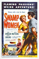 Póster película Las mujeres del pantano
