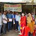 भारतीय मजदूर संघ ने दिया पटवारी संघ के आंदोलन को नैतिक समर्थन, धरनास्थल पर की जोरदार नारेबाजी