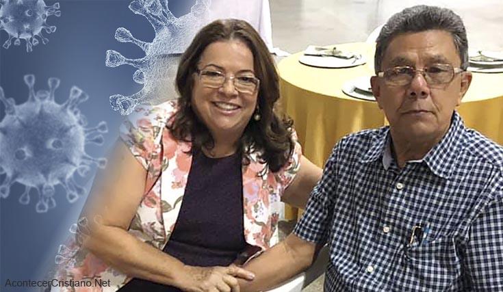 Pastores brasileños Claudionor Lucas y Romilda Pinto