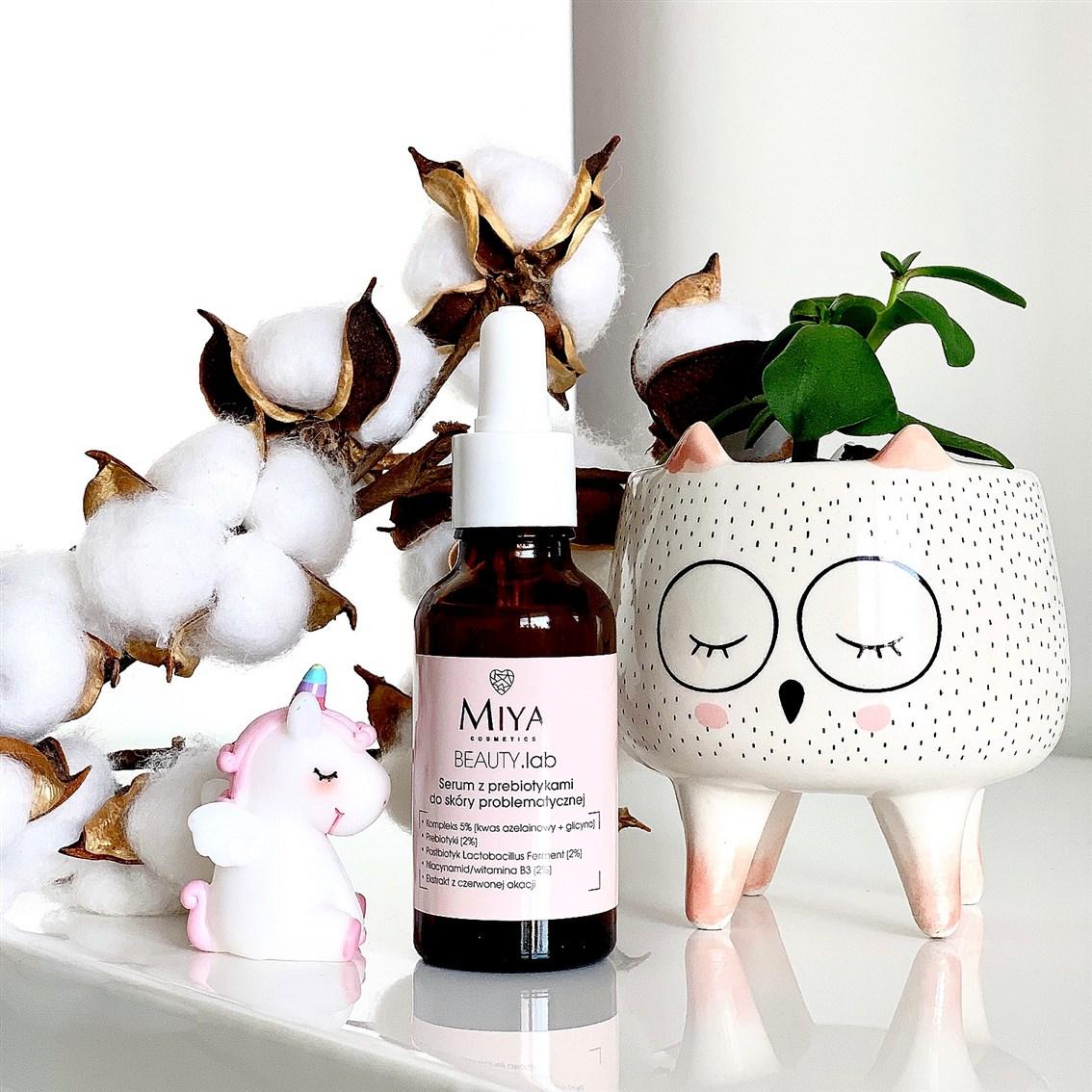 Miya Beauty Lab serum z prebiotykami opinie, blog recenzja