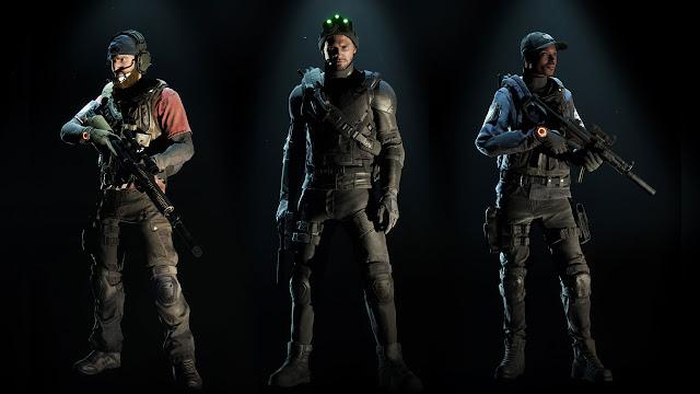 Os trajes das franquias clássicas da Ubisoft chegam hoje a The Division