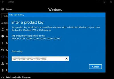 Error Aktivasi Windows 10