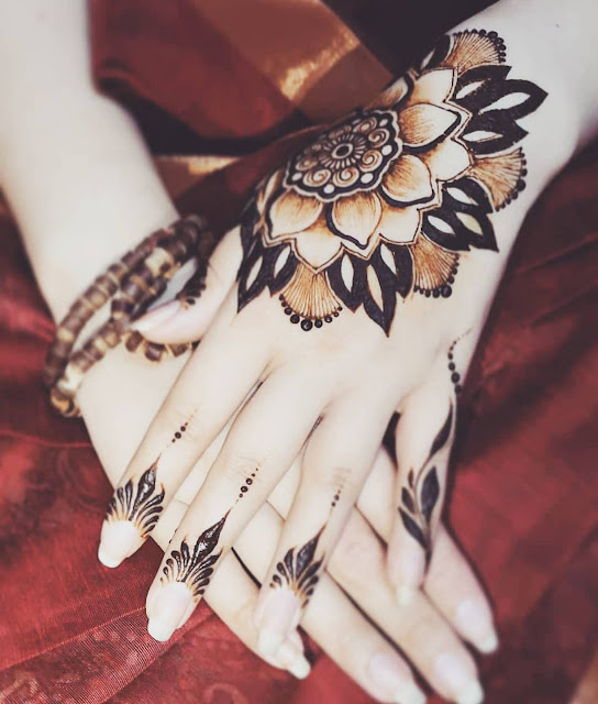 easy arabic mehndi designs pictures full size