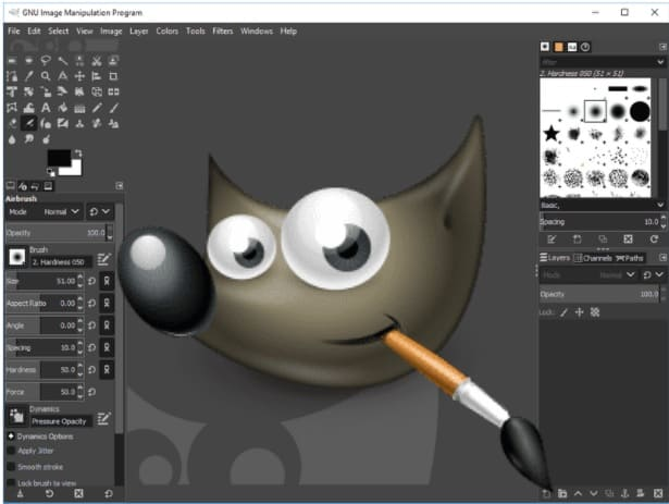 تحميل برنامج جيمب 2021 لتعديل وتحرير الصور بسرعه مجانا - GIMP