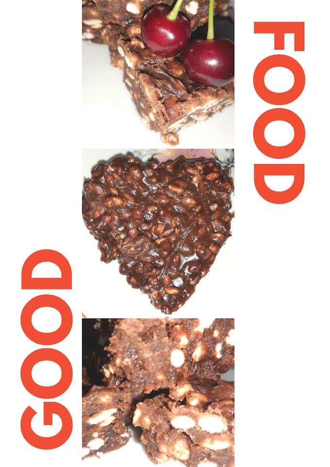 Domaca cokolada sa rizom-Homemade chocolate with rice