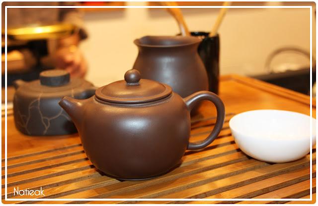 théière cérémonie du thé Compagnie française d'Orient et de Chine