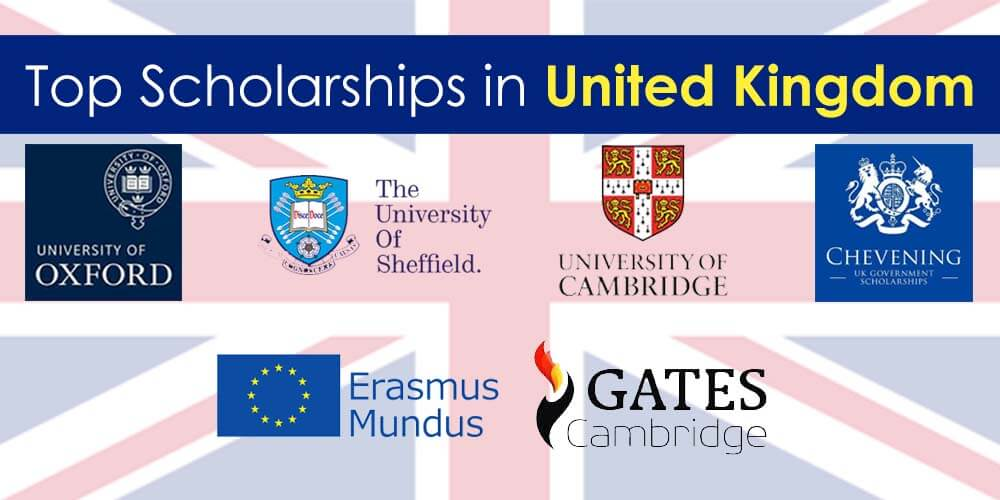 All Available Scholarships In The United Kingdom (UK) 2019/2020