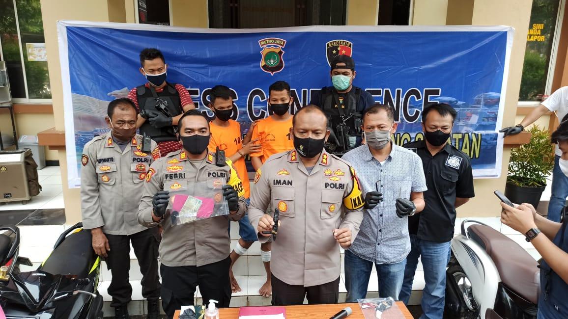 Polsek Kelapa Dua Ungkap Pelaku Curanmor yang Beraksi Gunakan Kunci T