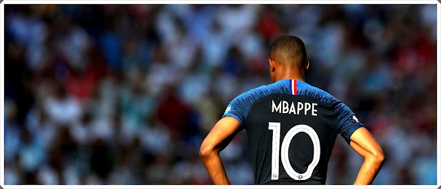 Kylian Mbappé France World Cup 2018