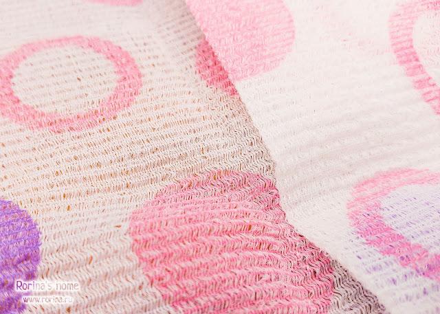 Края мочалки-полотенца не обработаны