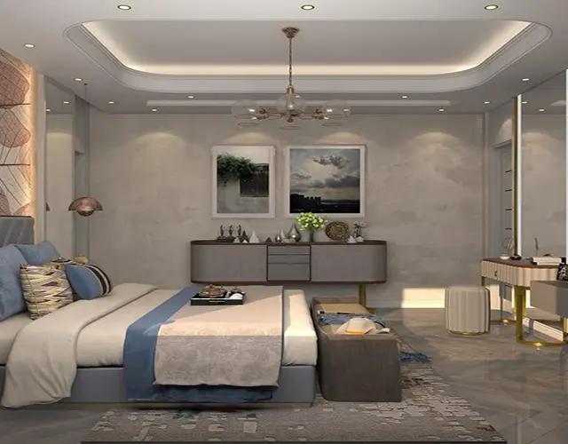غرف نوم رومانسية