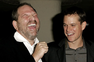 Matt Damon called 'spineless profiteer who stays silent' by Harvey Weinstein victim Rose McGowan after it is revealed he and Russell Crowe helped kill a story about mogul's harassment