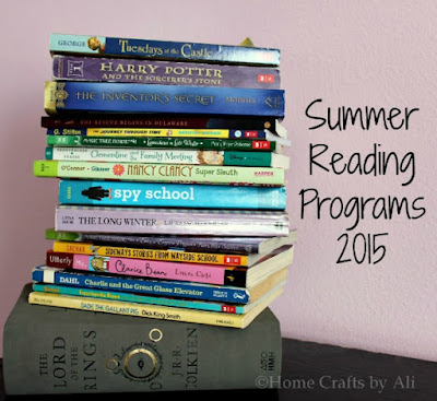 Home Crafts by Ali 2015 reading summer programs kids