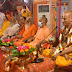 मुख्यमंत्री योगी आदित्यनाथ के नेतृत्व में गाजे-बाजे से निकली ज्ञानयज्ञ की शोभायात्रा
