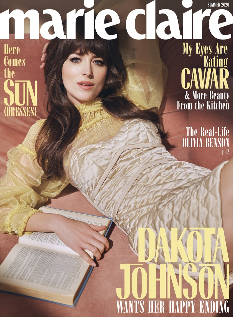 Dakota Johnson Looks Retro Chic for Marie Claire