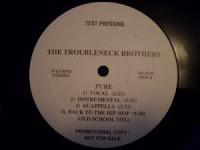Troubleneck Brothers - 1994 - Back To The Hip-Hop (Promo VLS)