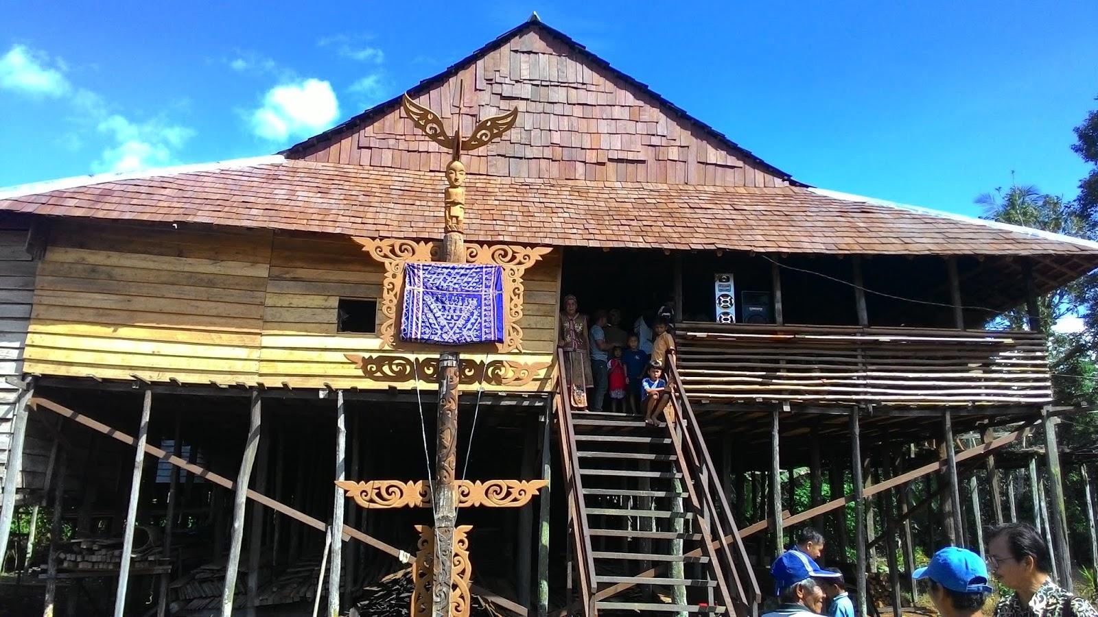 Rumah Panyai Sungai Antu Ulu