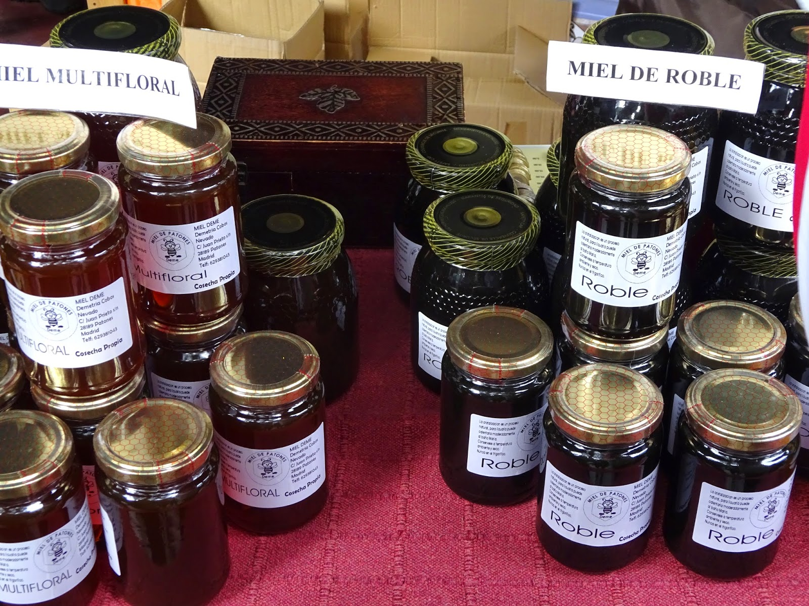 MERCADO DE LA CÁMARA AGRARIA -fruta - hortalizas - miel - casa de campo - pan