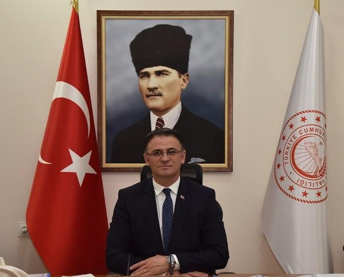 Vali Dr. Ozan Balcı'nın 10 Ocak Çalışan Gazeteciler Günü Mesajı