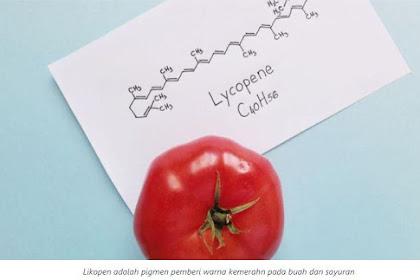 Sistem imun pada lansia mengalami penurunan. Lycopen adalah suatu zat yang dapat meningkatkan sistem imun, sehingga lansia dianjurkan untuk ....