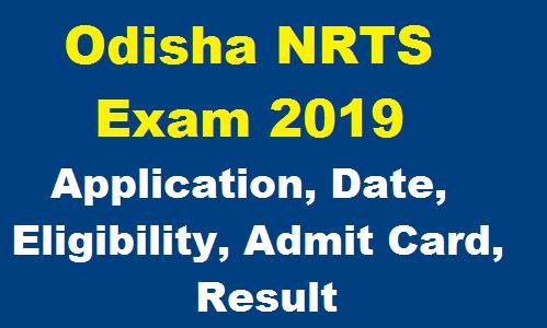 Odisha NRTS Scholarlship 2019