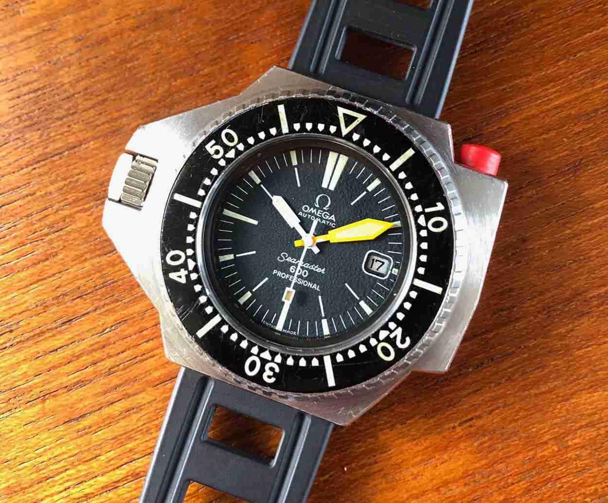 f99668355eb8 Legendaria Réplicas De Relojes Omega Seamaster PloProf Automático 600  Revisión