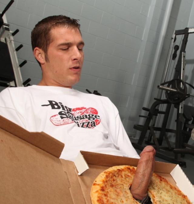 На привез порно пиццу дом