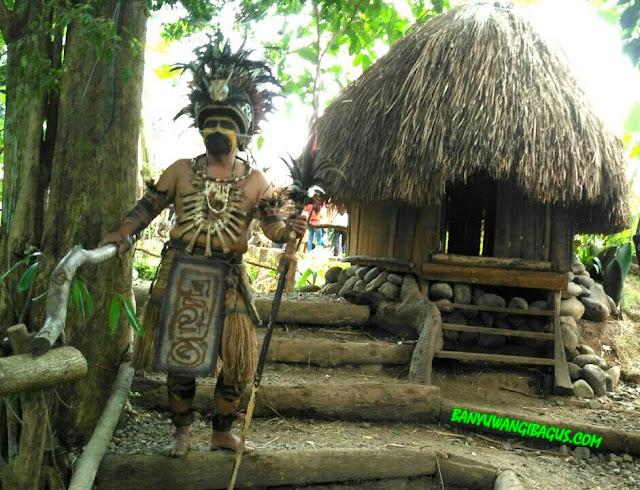 Wisata Kampoeng Primitif Banyuwangi.