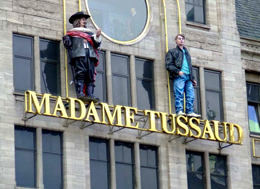 Madame Tussauds Museum (United Kingdom), One of London's most tourist attractions.
