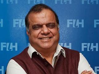 narendra batra FIH President