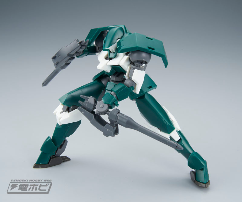 HG 1/144 Julieta's Mobile Reginlaze Sample Images by Dengeki Hobby